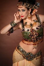 Sarah Skinner Belly Dancer