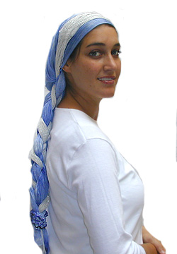 how to tie a muslim headscarf