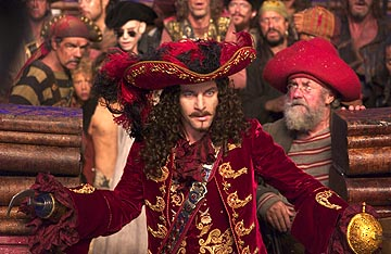 Jason Isaacs as Captain Hook & Smee