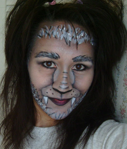 Werewolf Makeup I Flickr ktb8293
