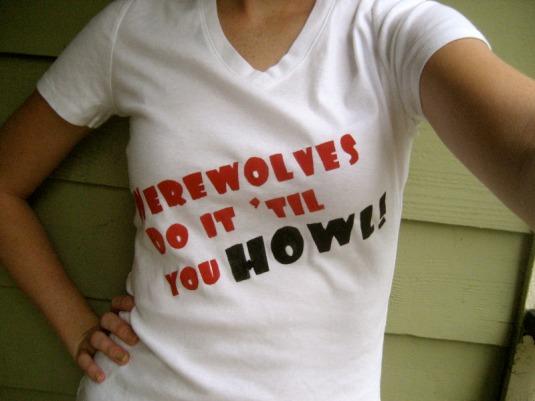 Werewolf T-Shirt Craftster