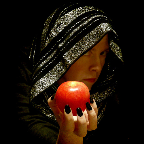 Witch with Poison Apple Macaw-frey Flickr