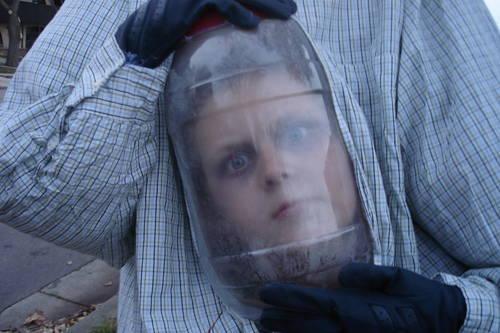 2010 clothesmonaut for Heads in jar