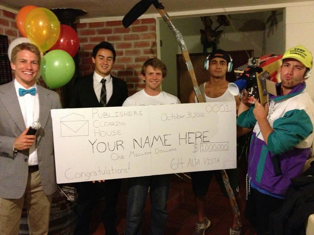 Publishers Clearing House (Group Costume) | Clothesmonaut