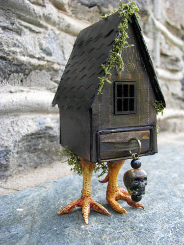 Baba Yaga Matchbox House Craftster