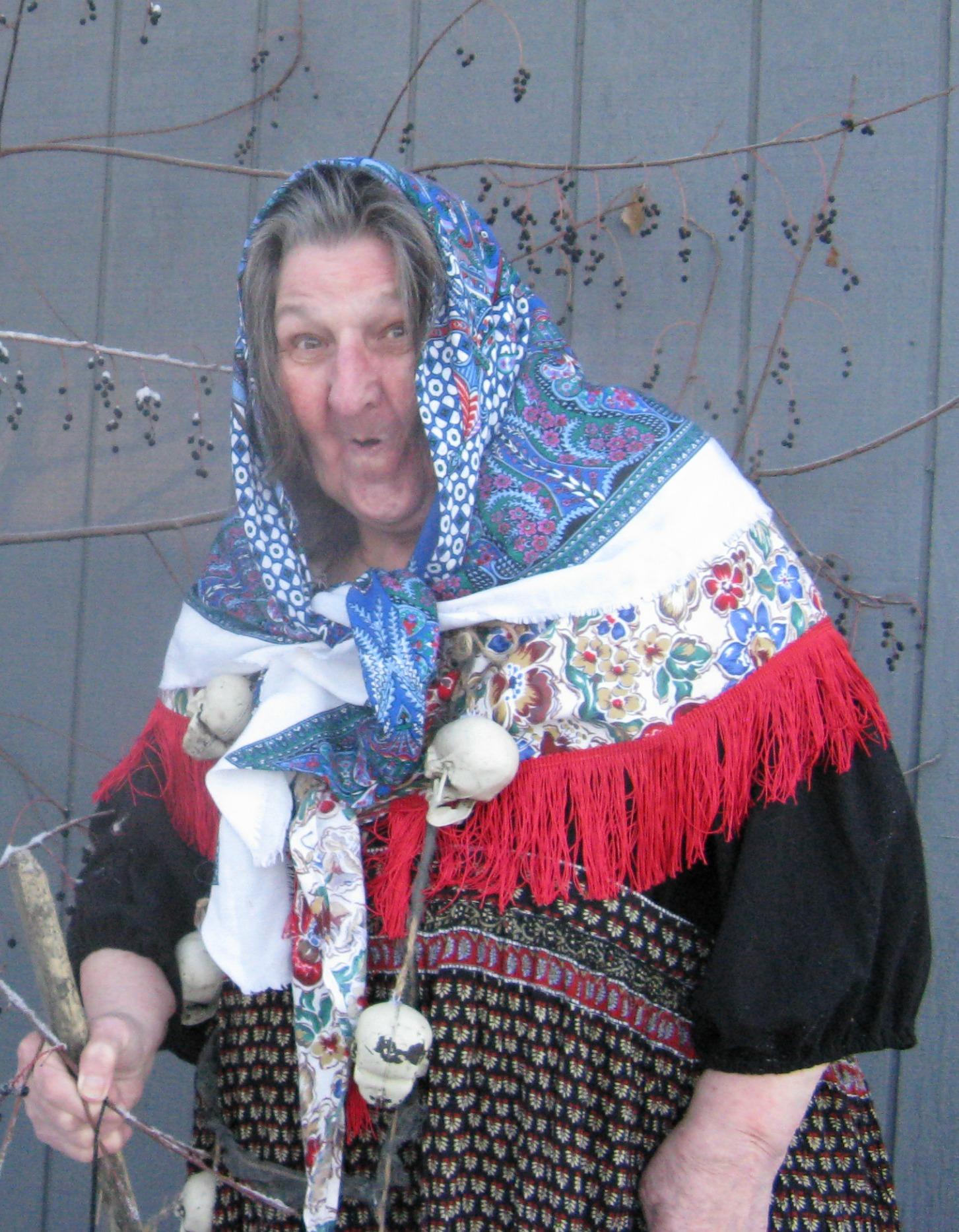 Lori Russell as Baba Yaga III Nov. 2014  sc 1 st  Clothesmonaut - WordPress.com & Baba Yaga | Clothesmonaut