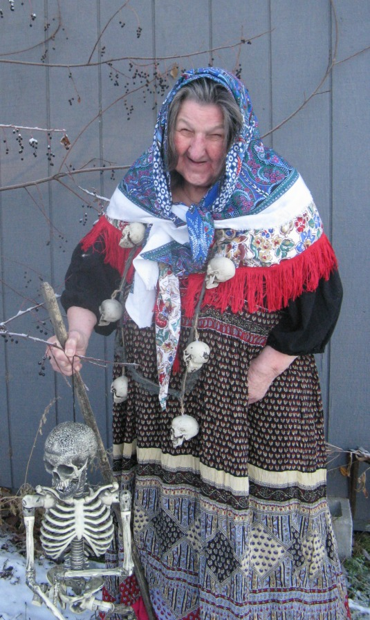 Lori Russell as Baba Yaga Nov. 2013