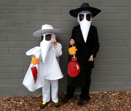 Spy Vs. Spy Costume Halloween 2013