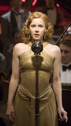 Miss Pettigrew Delysia's Gold Gown