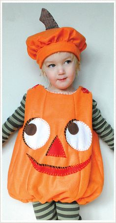 Child's Pumpkin Costume