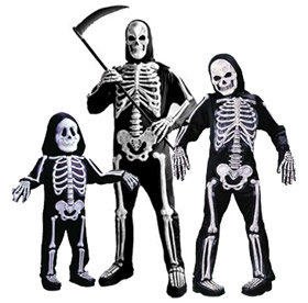 Skeleton Family Halloween Costumes.Re Minimalist Halloween Costumes Clothesmonaut