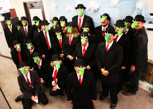 Son of Man Group Costume
