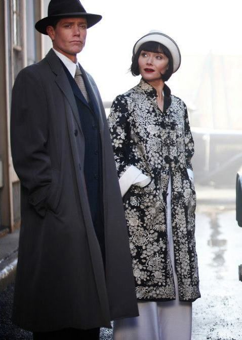 Phryne's Black and White Coat