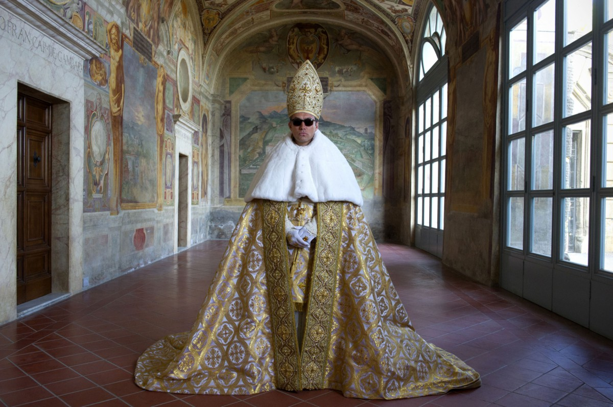 pope-with-shades  sc 1 st  Clothesmonaut - WordPress.com : the pope costume  - Germanpascual.Com